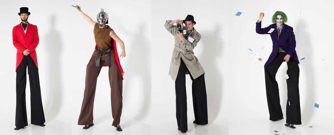 Professional Stilts Performer